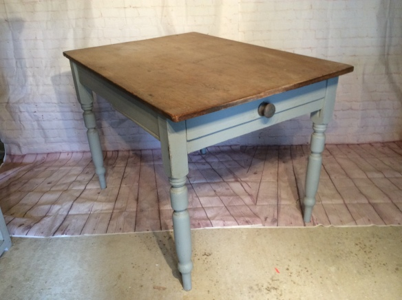 Small Antique Pine Kitchen Table Mark Maynard